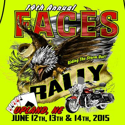 FACES Rally T-shirt 2015